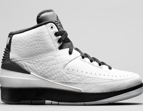 Nike Air Jordan 2 Shoelace Sizing Guide
