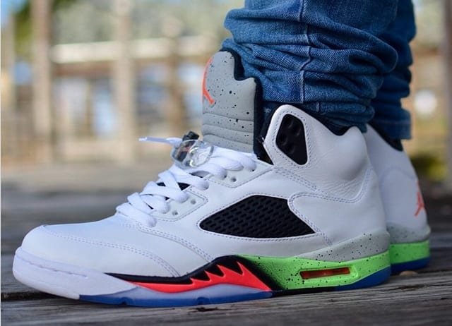 best way to lace air jordan 5