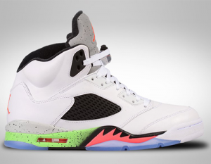 Nike Air Jordan 5 Shoelace Sizing Guide