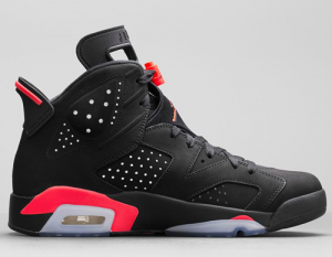 Nike Air Jordan 6 Shoelace Sizing Guide