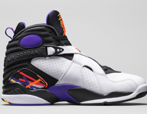 Nike Air Jordan 8 Shoelace Sizing Guide