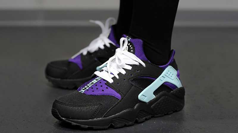 Nike-Air-Huarache-Black-Court-Purple