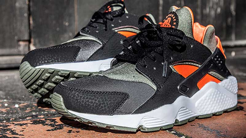 Nike-Air-Huarache-Green-Hyper-Crimson-Black