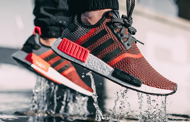 Adidas Nmd Beige Et Orange