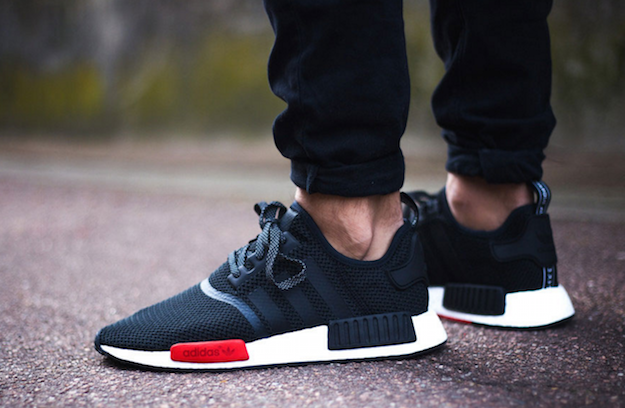 Adidas Boost NMD R1 PK Winter Wool Pack BB 0679 Core Black