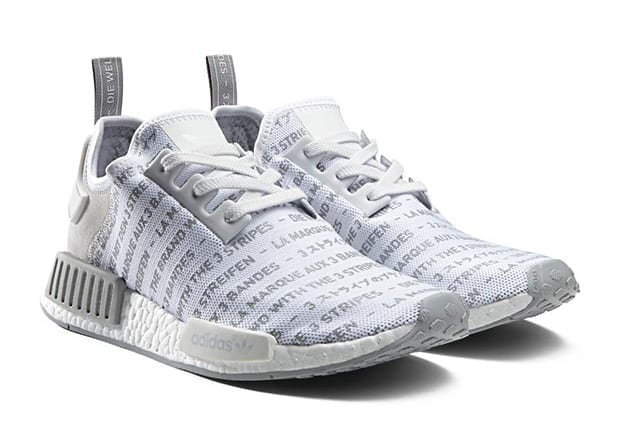 adidas nmd whiteout blackout pack white