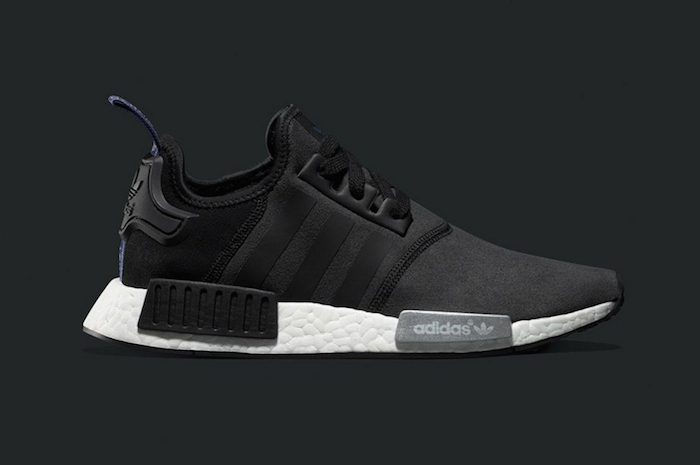 adidas nmd r1 black and white womens