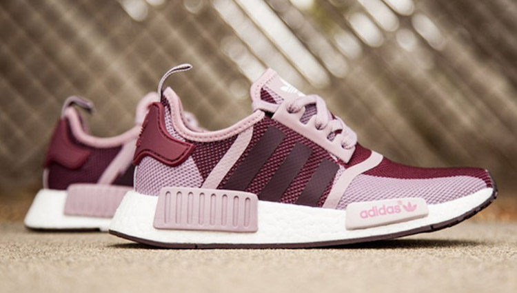 adidas NMD womens blanch purple