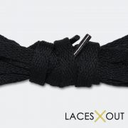 Black Jordan 1 Replacement Laces
