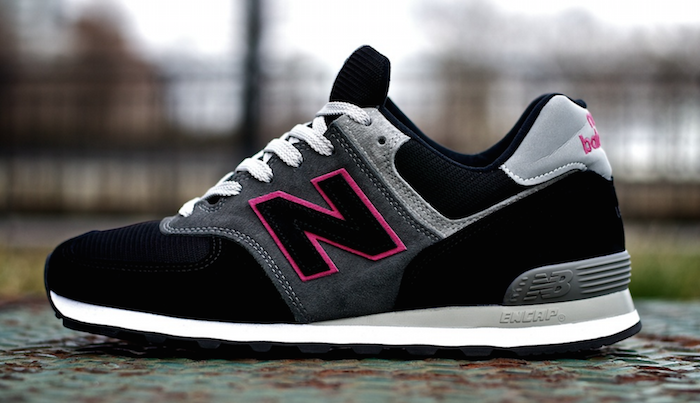 new balance black and white all pink new balance