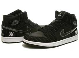 Barons-Away-Opening-Day-Retro-Black-White-Silver-Air-Jordan-1-Original-Release