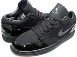 Crocodile-Black-Cat-Retro-Low-Black-Metallic-Silver-Black-Air-Jordan-1-Original-Release