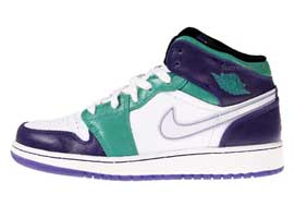Grape-Head-Girls-Youth-GS-Retro-Grape-Emerald-Green-White-Air-Jordan-1-Original-Release