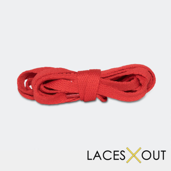 Red Shoelaces Middle