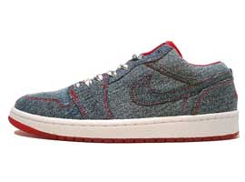 Retro-Womens-Low-Denim-White-Sport-Red-Air-Jordan-1-Original-Release