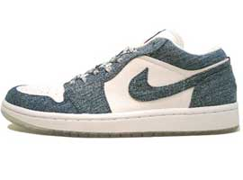Retro-Womens-Low-White-Denim-Air-Jordan-1-Original-Release