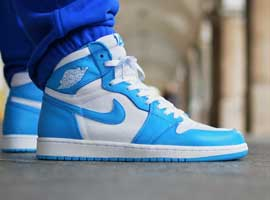 White-and-Caroline-Blue-OG-Jordan-1-Original-Release