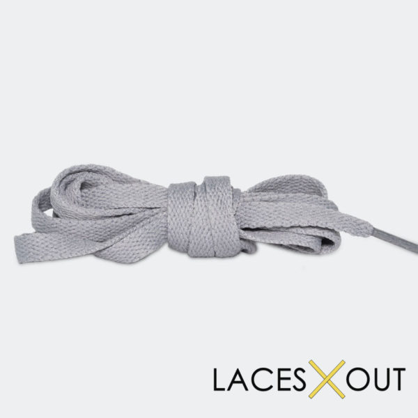 Light Grey Shoelaces High Quality