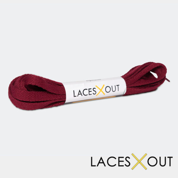 Maroon Sneaker Shoelaces