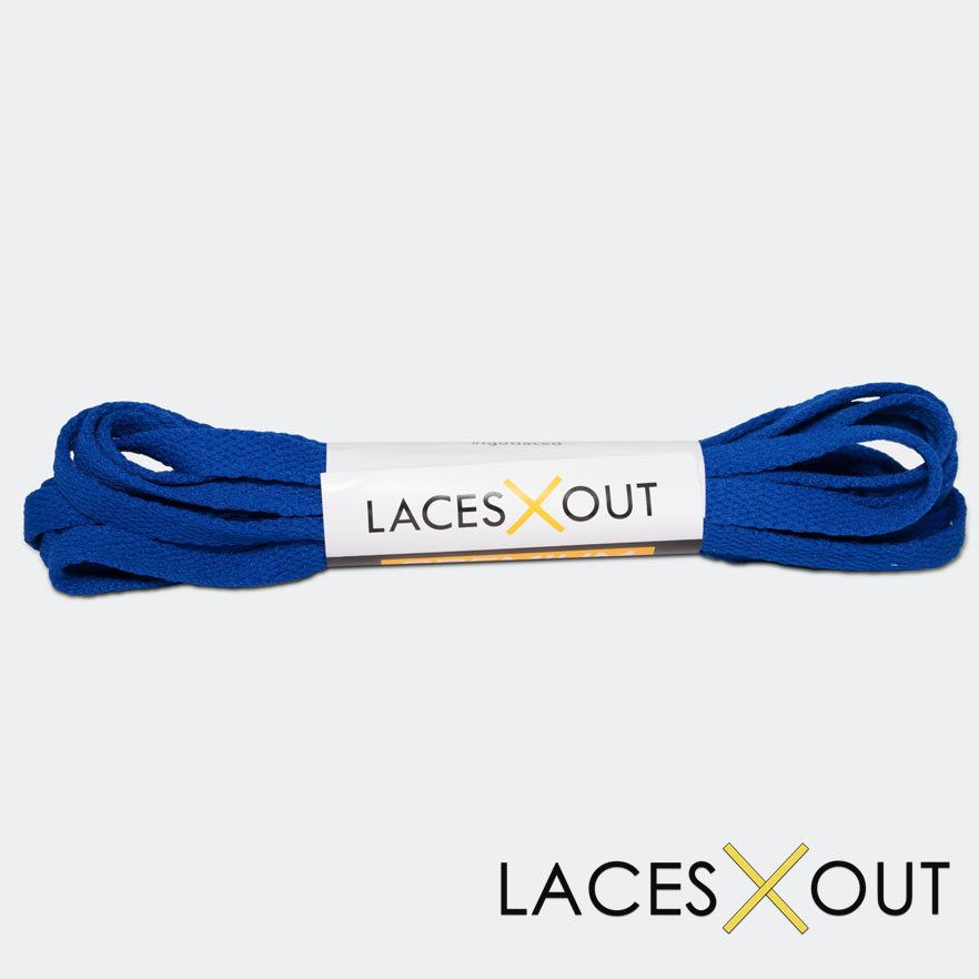 Royal Blue Shoelaces Basketball