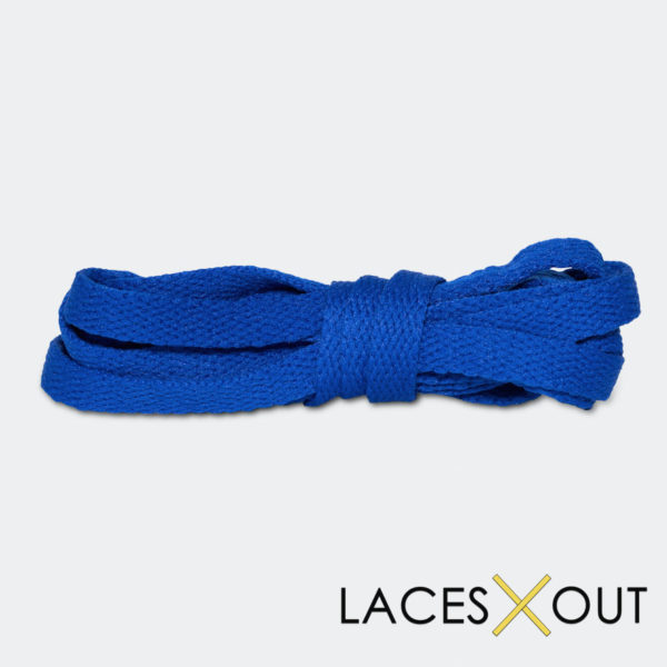 Royal Blue Shoelaces Top VIew