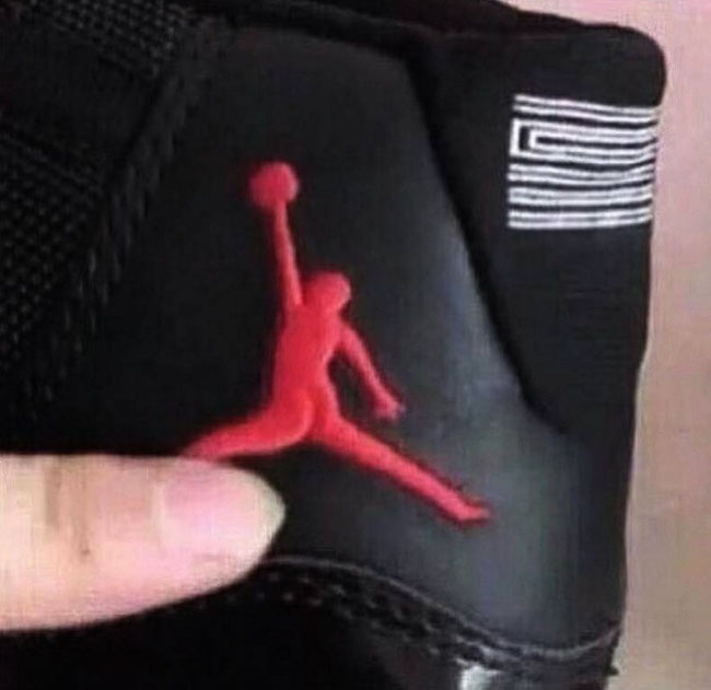 Fat Jumpman Fake Jordan 11s