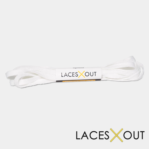 White Sneaker Shoelaces