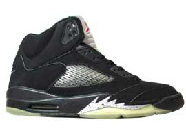 Air-Jordan-5-2000-Retro-Black-Black-Metallic-Silver