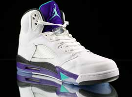 Nike Jordan Retro 5 Grape