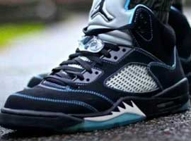 Air-Jordan-5-Retro-Black-University-Blue-White