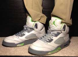 Air-Jordan-5-Retro-Green-Beans-Silver-Green-Bean-Flint-Grey