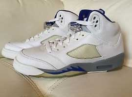on sale 3bb01 cc659 ... ireland air jordan 5 retro white sport royal stealth b195b ceab3