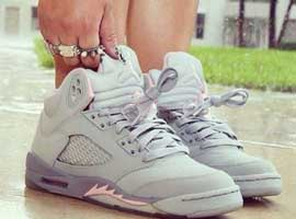 Air-Jordan-5-Retro-Womens-Silver-Shy-Pink-Stealth