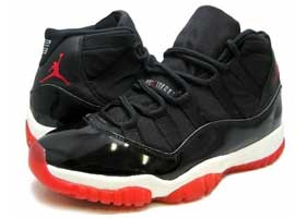 air jordan 11 black true red white