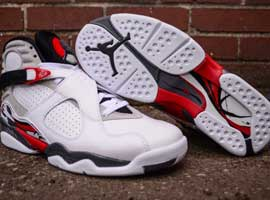 air jordan 8 og bugs bunny white black true red