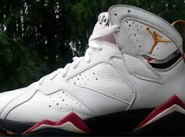 air jordan 7 cardinal white black cardinal red