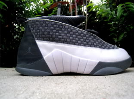 air jordan 15 og flint grey white