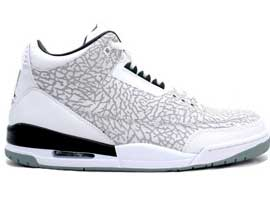 timeless design 34750 384a6 Flip-2007-Retro-White-Chrome-Black-Air-Jordan-