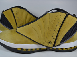 air jordan 16 og light ginger dark charcoal white