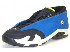 air jordan 14 og low varsity royal black white
