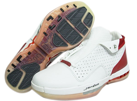 air jordan 16 og low white black varsity red