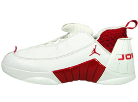 air jordan 15 og low white deep red