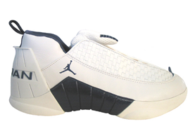 air jordan 15 og low white midnight navy