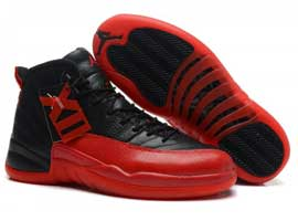 air jordan 12 retro black varsity red