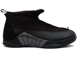 air jordan 15 retro black varsity red