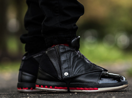 air jordan 16 retro black varsity red countdown pack