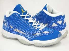 air jordan 11 retro IE low argon blue zest white