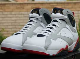 air jordan 7 retro olympic white metallic gold midnight navy true red