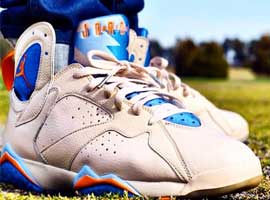 size 40 3a776 c0f8d ... amazon air jordan 7 retro pearl white bright ceramic pacific blue dde50  429b0