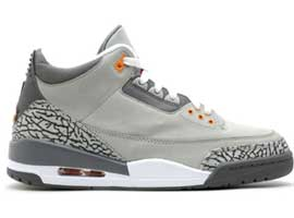 Retro-Silver-Sport-Red-Light-Graphite-Orange-Peel-Air-Jordan-III-Original-Release